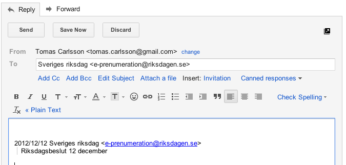 Ser ut som bug men är en feature i Gmail
